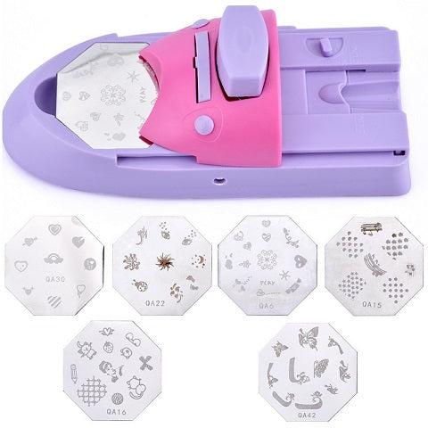 You do not need to pay bills in an expensive nail salon to get beautiful and elegant nail patterns because you can do it at home with our Insatsu™ Portable Nail Art Printer Machine.  With its accurate positioning feature, it perfectly stamps on your nails.