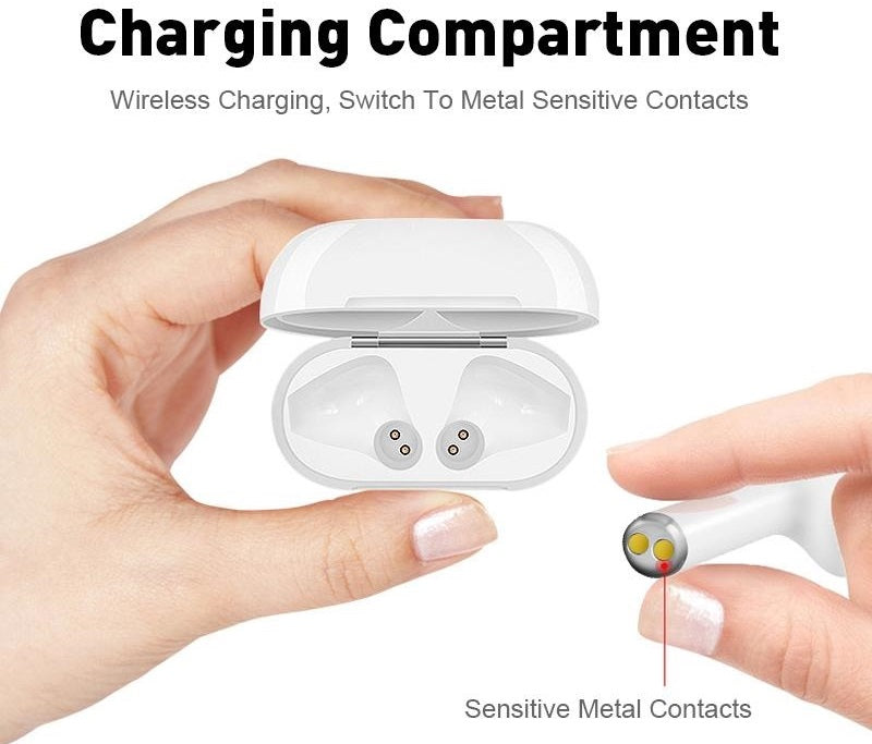 TWS Wireless Bluetooth Earphones has HD sound with deep bass, most stable Bluetooth signal, super comfortable wearing experience!