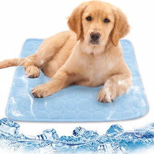 Cooling dog bed mat is the best solution to keep your dogs happy and healthy in warm temperatures, guarantees your dogs a brand new comfortable, and refreshing experience.