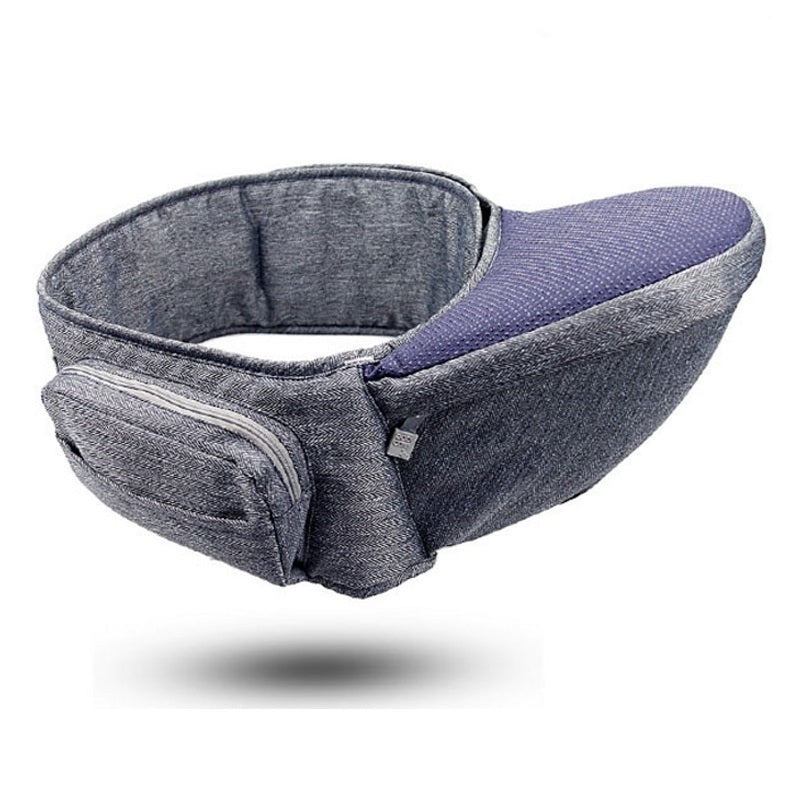 BabyCare™ Baby Hip Seat Carrier allows you to easily carry your baby without pain or injury to your shoulders, arms, or wrists. It secures firmly around your waist and provides a seat for your baby to rest.