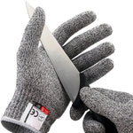 Keep your hands protected from cuts and abrasions caused by knives, glass, sharp metals, and even wood carving and whittling, with these AntiCut™ Cut Resistant Gloves.  Made with an interlocking and food-grade fiber mesh, these protective gloves offer consistent protection from cuts in a variety of work conditions.