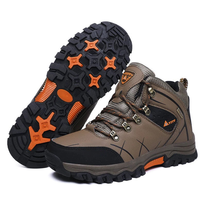 These indestructible waterproof snow boots are an absolute must-have for the coming winter season. They are incredibly durable and lightweight with fleece material to keep you warm in even the most extreme weather.