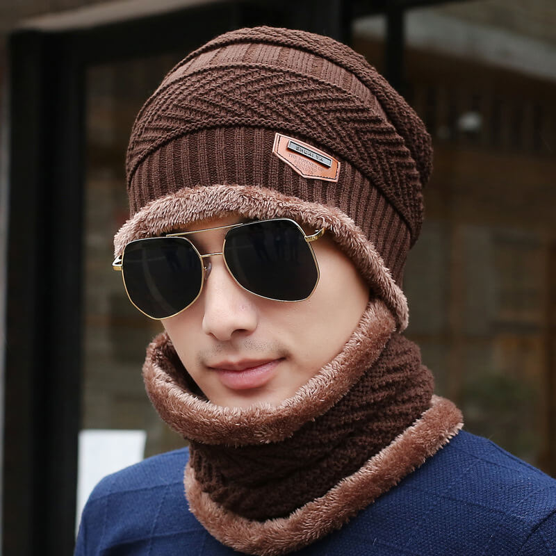 This Hatto™ Unisex Knitted Beanie Hat And Neck Warmer are perfect combinations for this upcoming cold season. Great for outdoor activities and daily warmer.  The super-soft material feels comfortable to wear, and it is perfectly designed to keep your head, ears, face, and neck warm.
