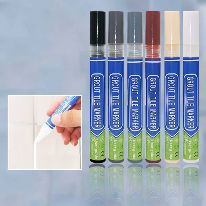 Waterproof Grout Marker Repair Pen 6 Colors Available