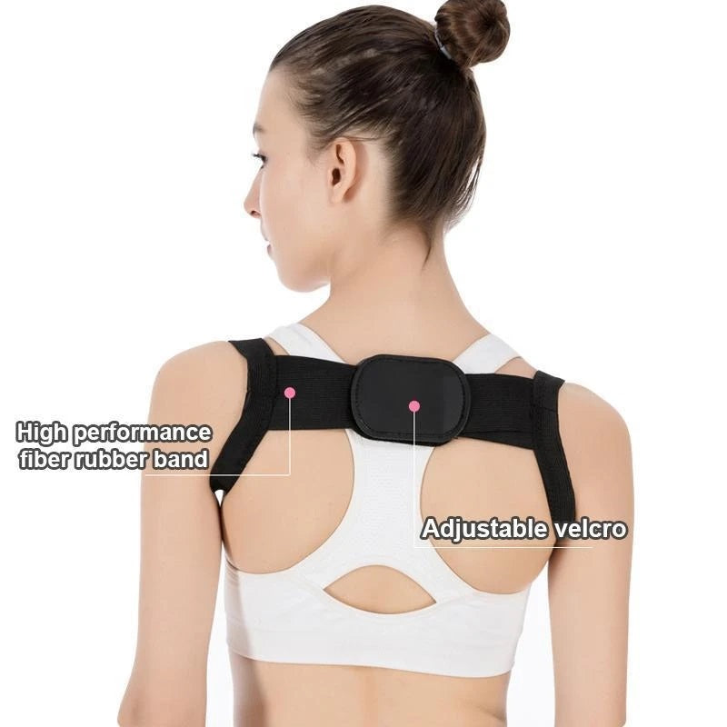 Invisible posture corrector brace is the ultimate solution of pain, kyphosis, and sagging shoulders.