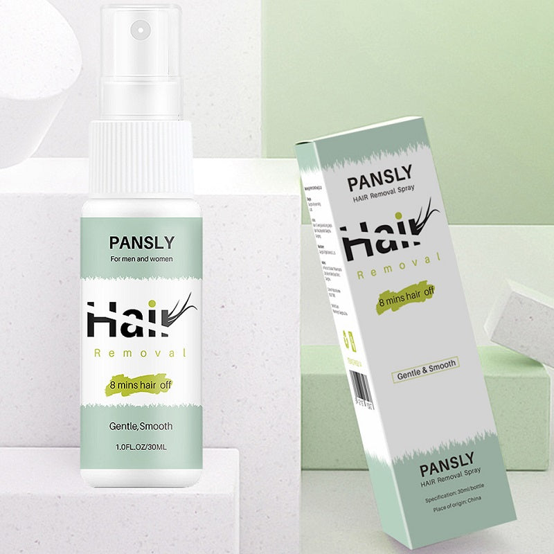 Our Pansly™ Natural Permanent Hair Removal Spray is a real money and time saver for you to get rid of unwanted body hair in a pain-free way in minutes, saving you from annoying shaving, tweezing, or waxing all the time.