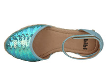 Load image into Gallery viewer, Junior Espadrille Sequins