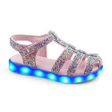 Load image into Gallery viewer, LED Glitter Sandals