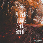 Pumpkins, Leaves, S'mores & Bonfires