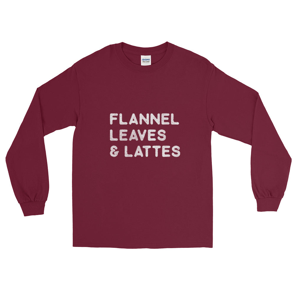 Flannel, Leaves and Lattes (Longsleeve)