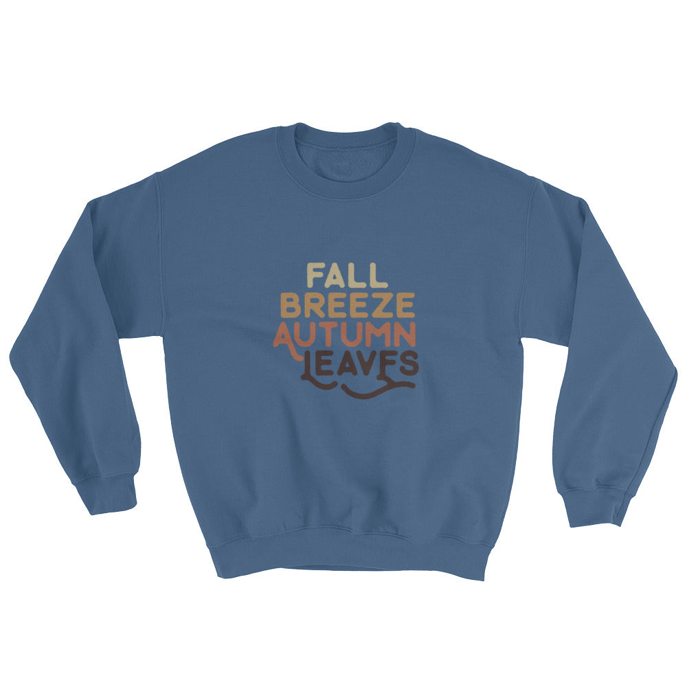 Fall Breeze. Autumn Leaves (Sweatshirt)