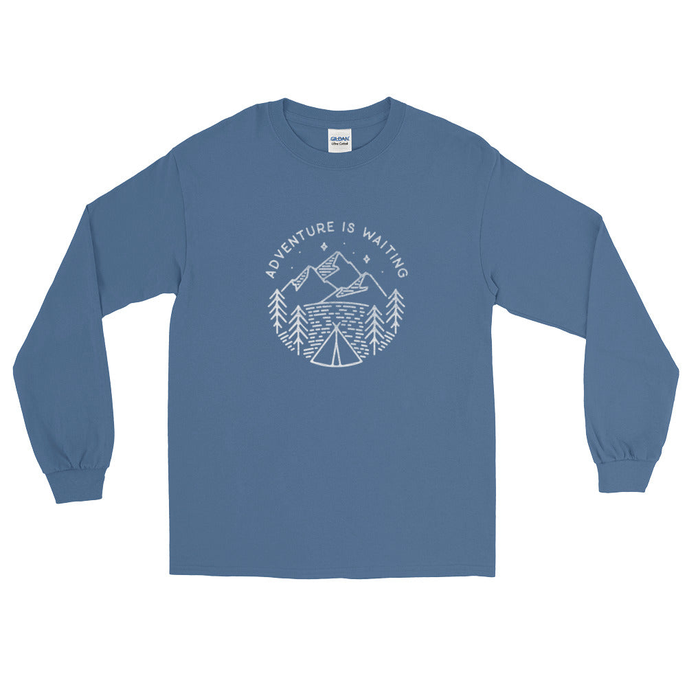 Adventure is Waiting Long Sleeve T-Shirt