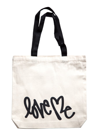 Love Me Tote Bag (black)