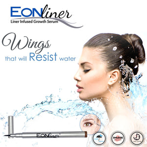 EONLiner plus  Lash Growth Serum Infused- Soft Brown Mono TIP