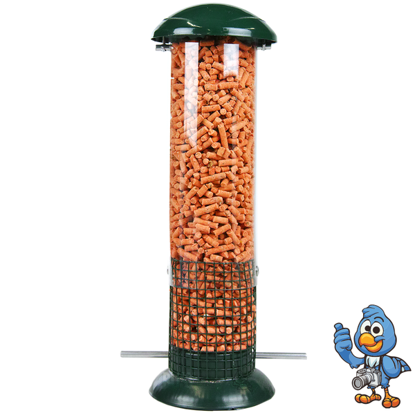 Carbon Suet Pellet Feeder