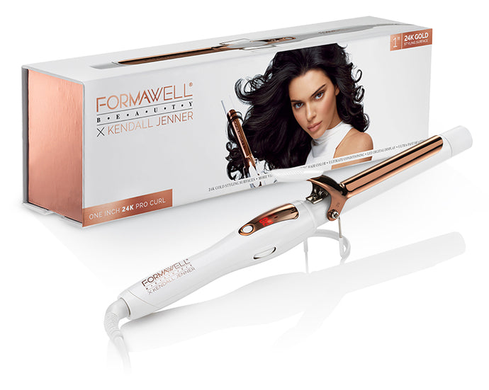 Formawell Beauty x Kendall Jenner One Inch Curler - Box and Product