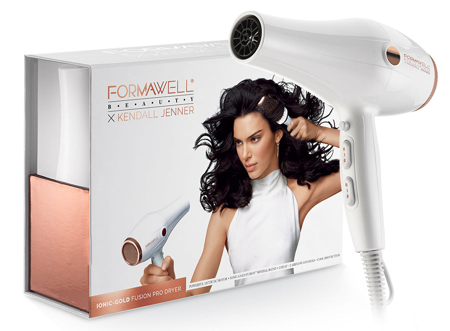 Formawell Beauty x Kendall Jenner Dryer - Box and Product