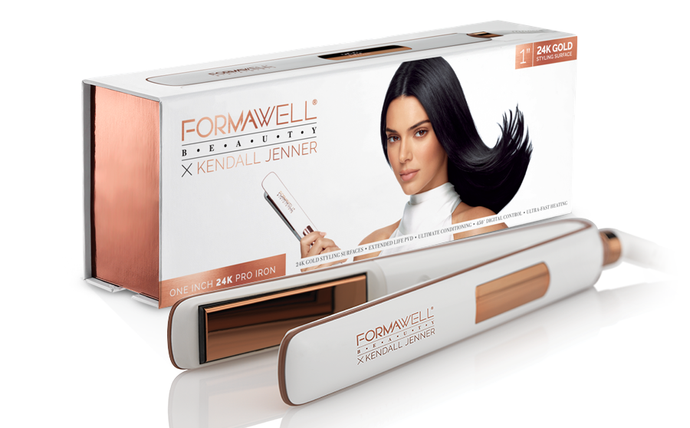 "Formawell Beauty X Kendall Jenner Negative Ion 1"" Flat Iron"