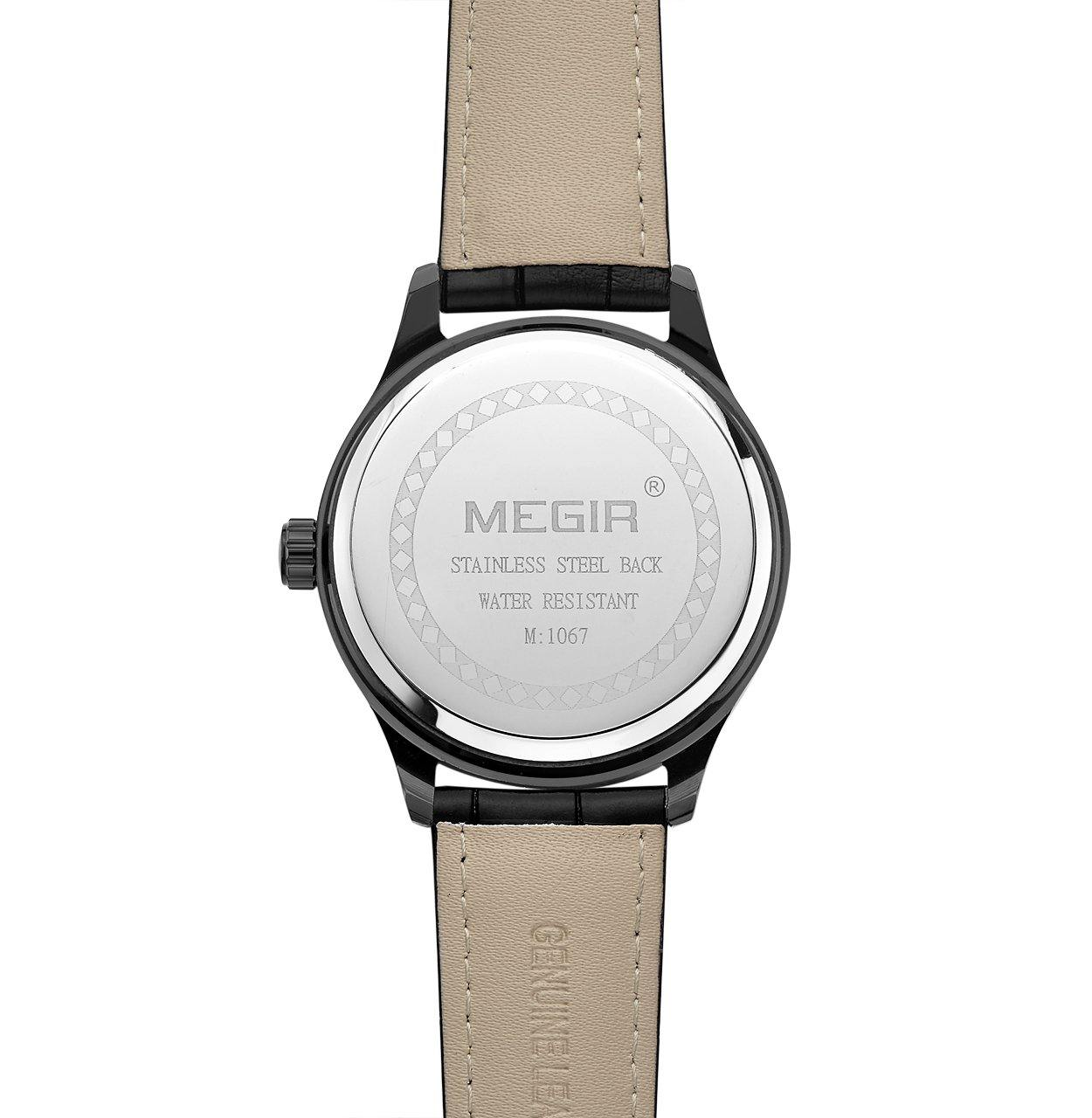 MEGIR 2017 New men's watch top brand luxury 1067 - MEGIR