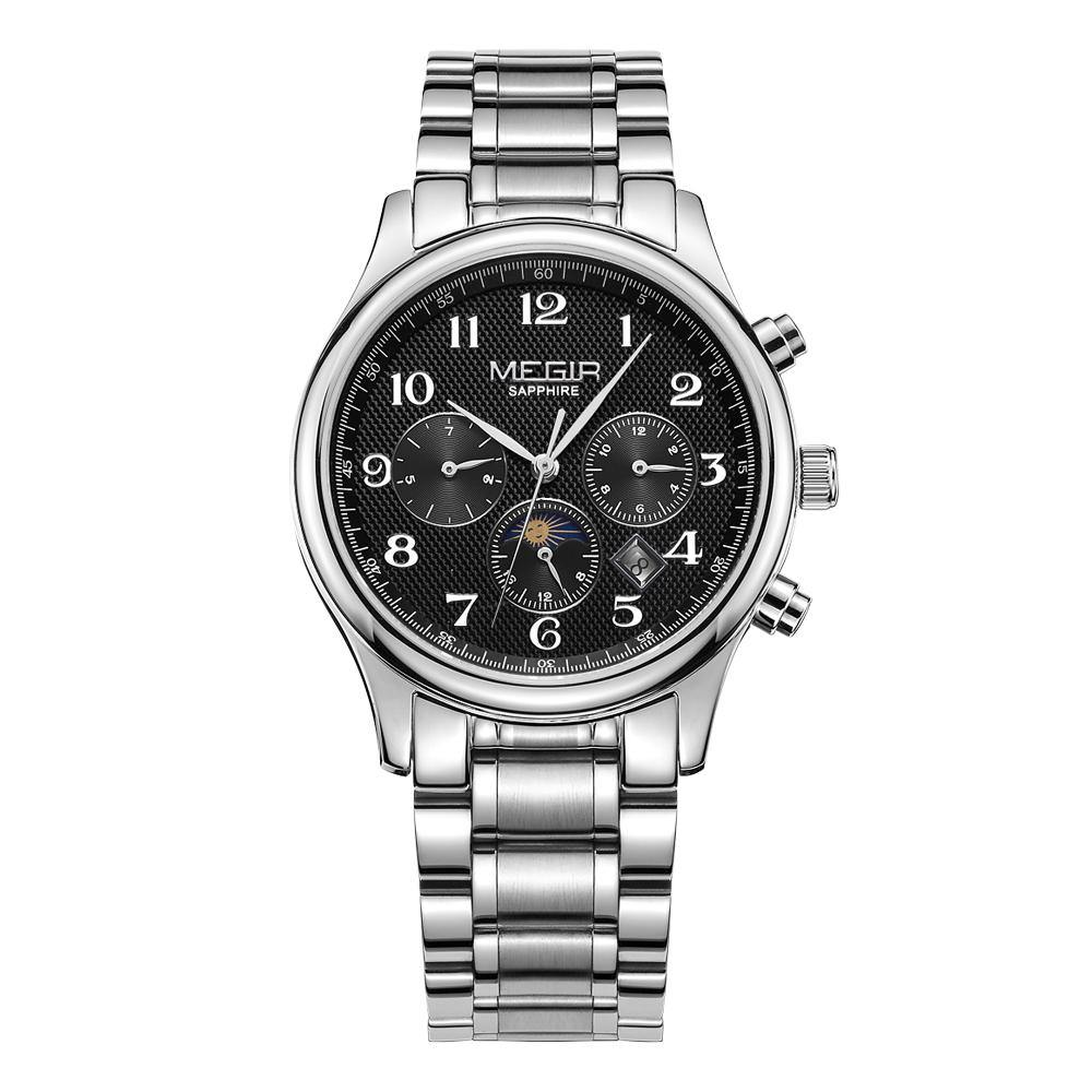 MEGIR Men's  Sport Hand Wind Mechanical Watches  Luxury Waterproof  62046 - MEGIR