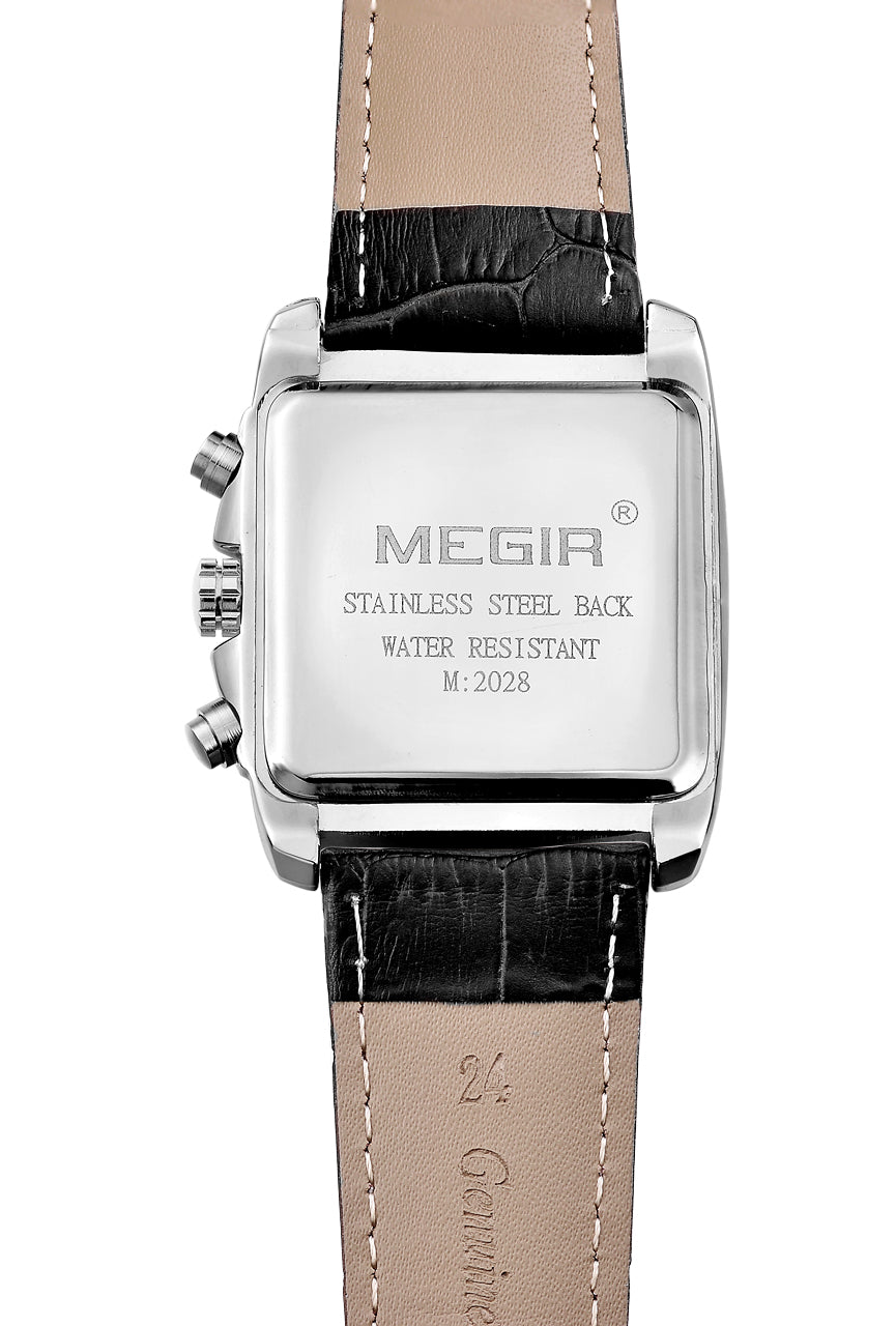 Megir original men's watch luxury quartz military watch 2028 - MEGIR