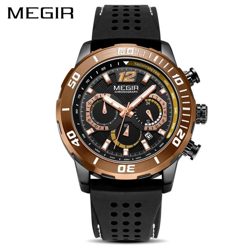 MEGIR Men's Sports Watches Chronograph 2109 - MEGIR