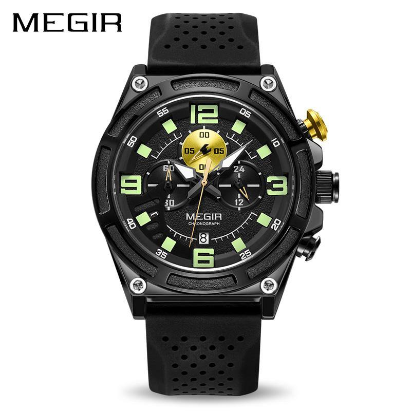 MEGIR Men's Sports Watches Chronograph 2116 - MEGIR