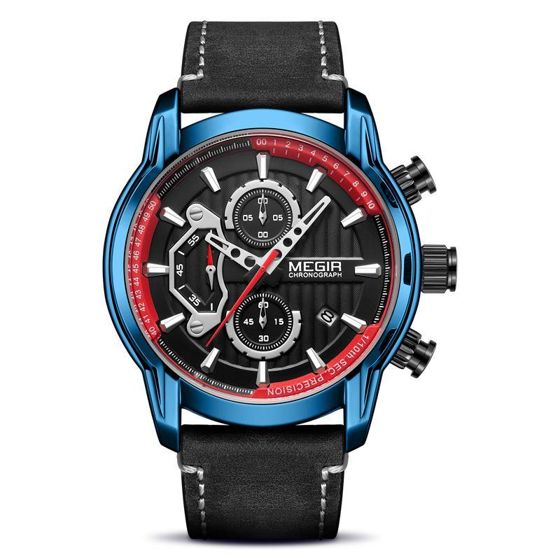MEGIR watch for men, mens quartz sports watches 2104 - MEGIR