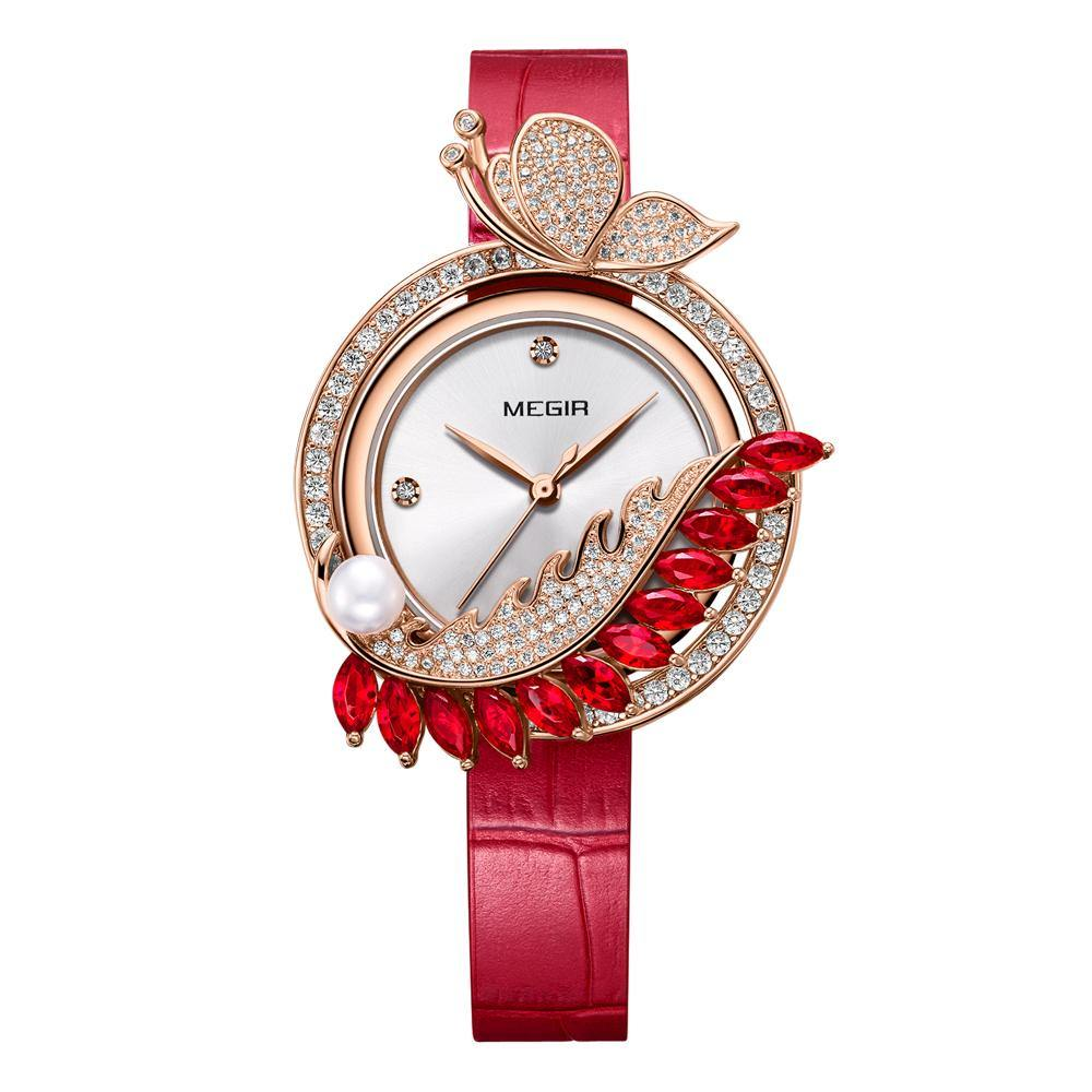 MEGIR Lady Watches ML4199 【One Set 6 Styles Free Combination】 - MEGIR