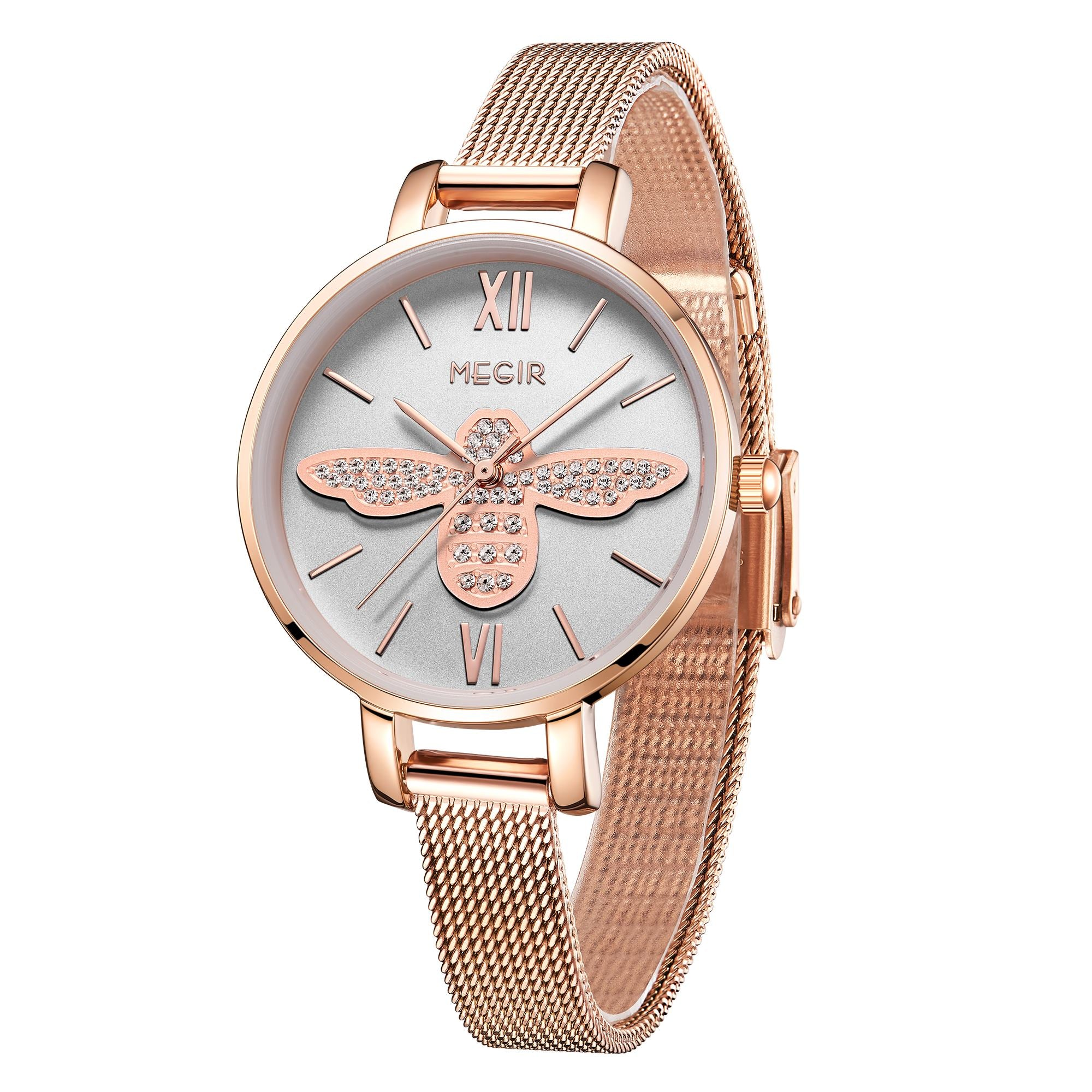 MEGIR Luxury Women Fashion Ladies Watches 7020