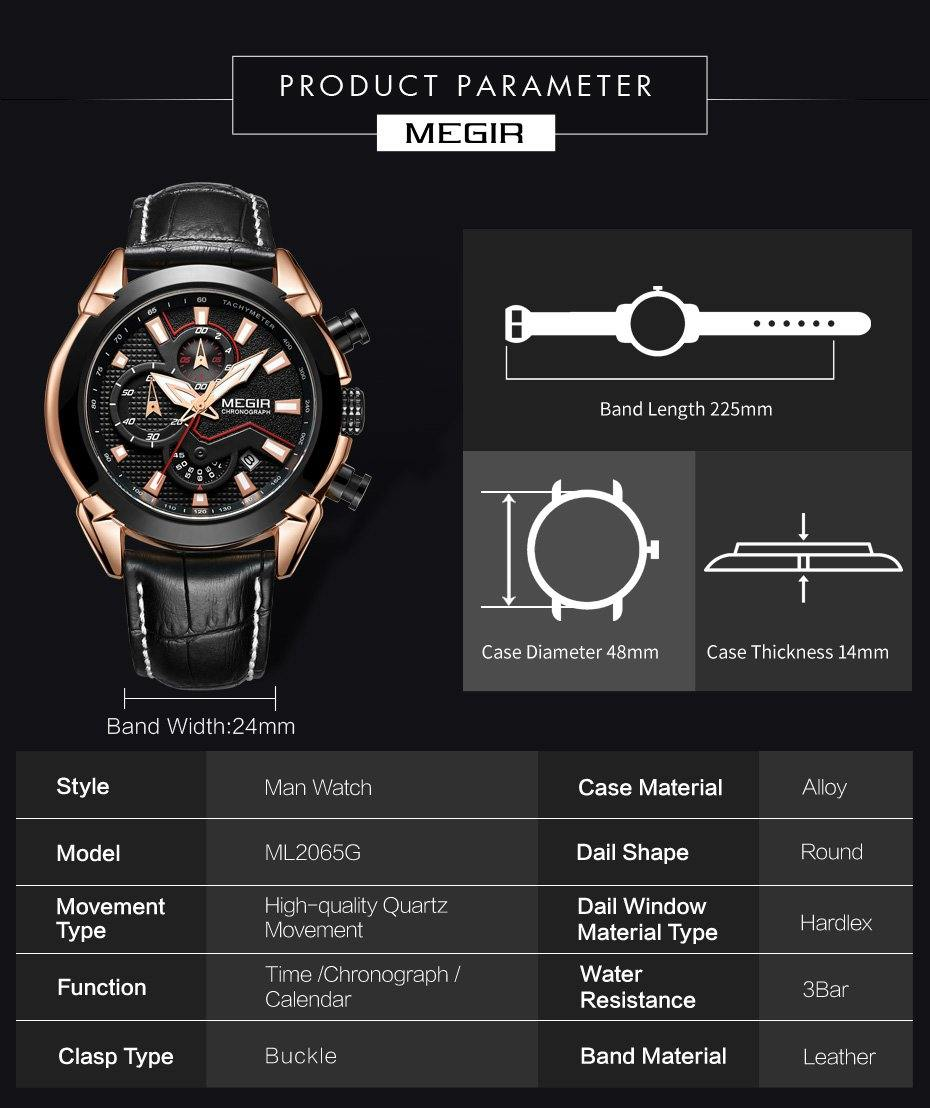【MEGIR™ ML2065】 Military Sports Watch, Men's Extreme Sports Watches--🎄Christmas 40% OFF🎅 - MEGIR