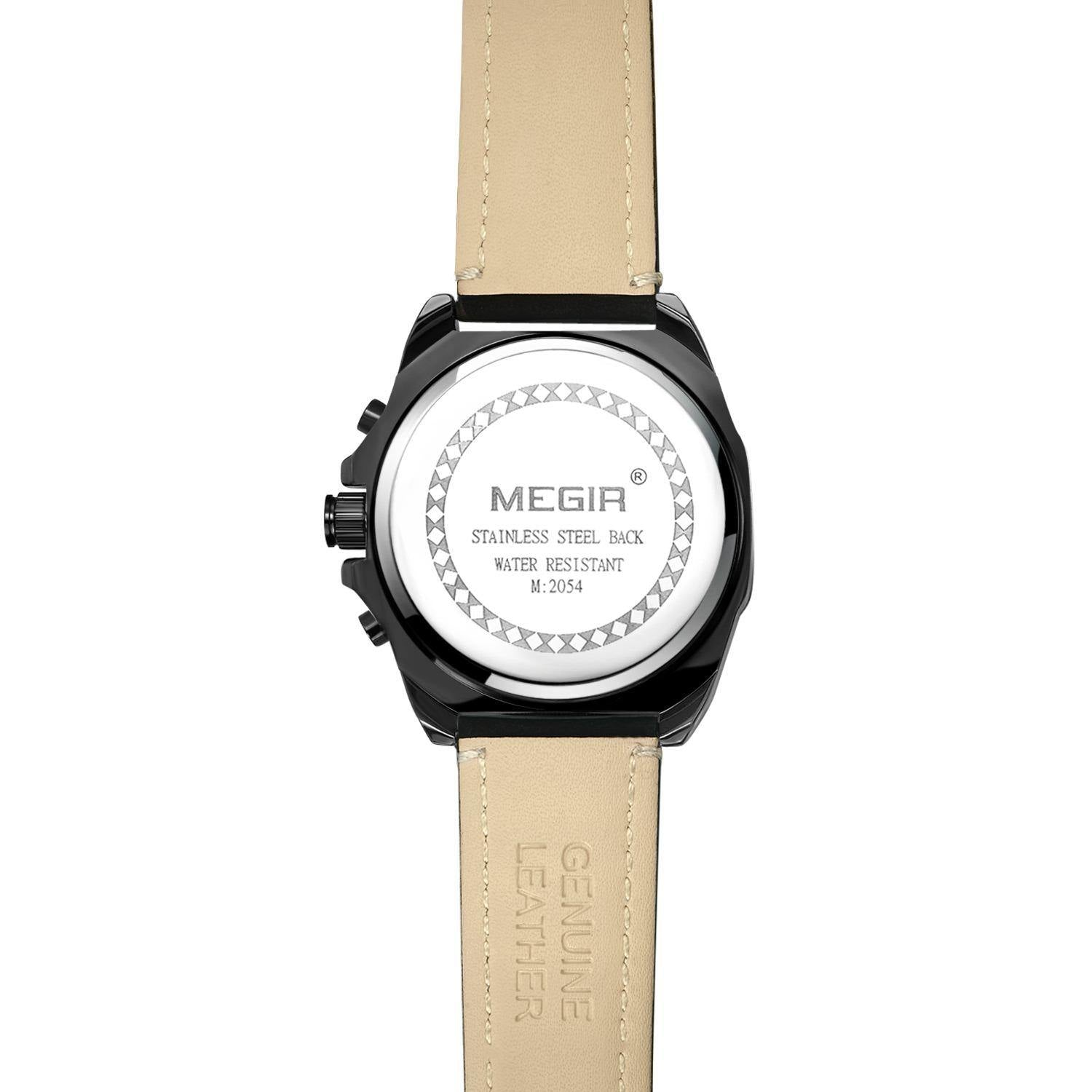 Men's Sports Watch, Military Quartz Watch 2054 - MEGIR