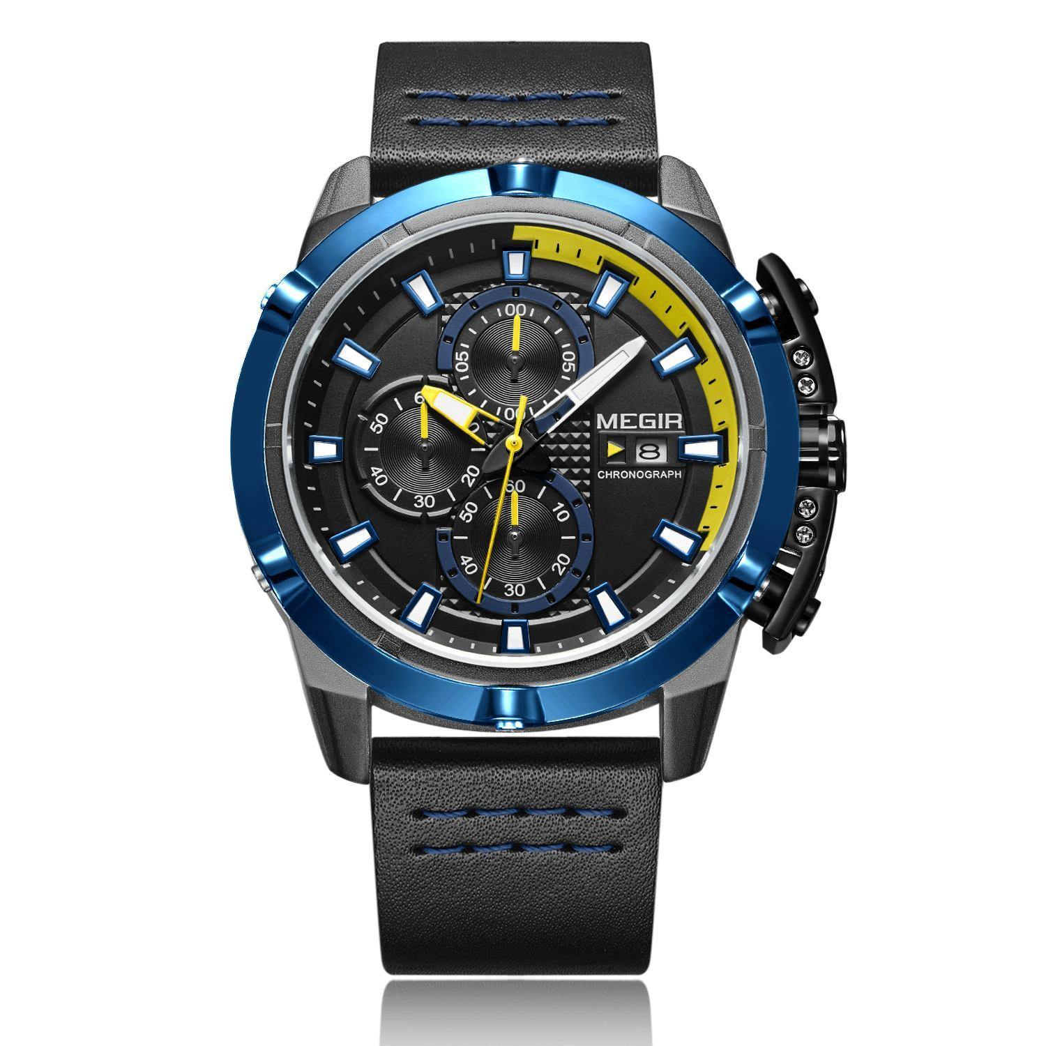 MEGIR men's quartz sports watch 2062 - MEGIR