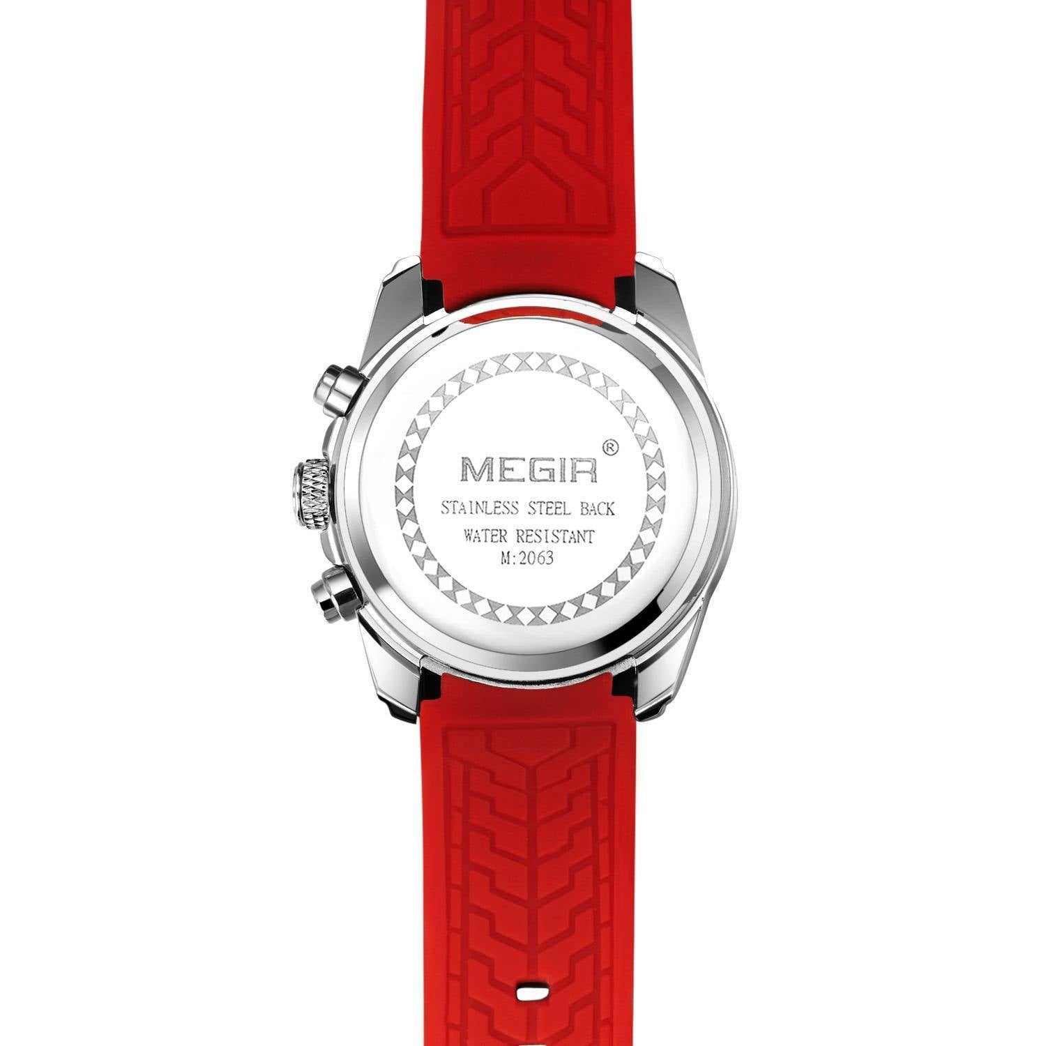 Megir Chronograph Analog Quartz Watch 2063 - MEGIR