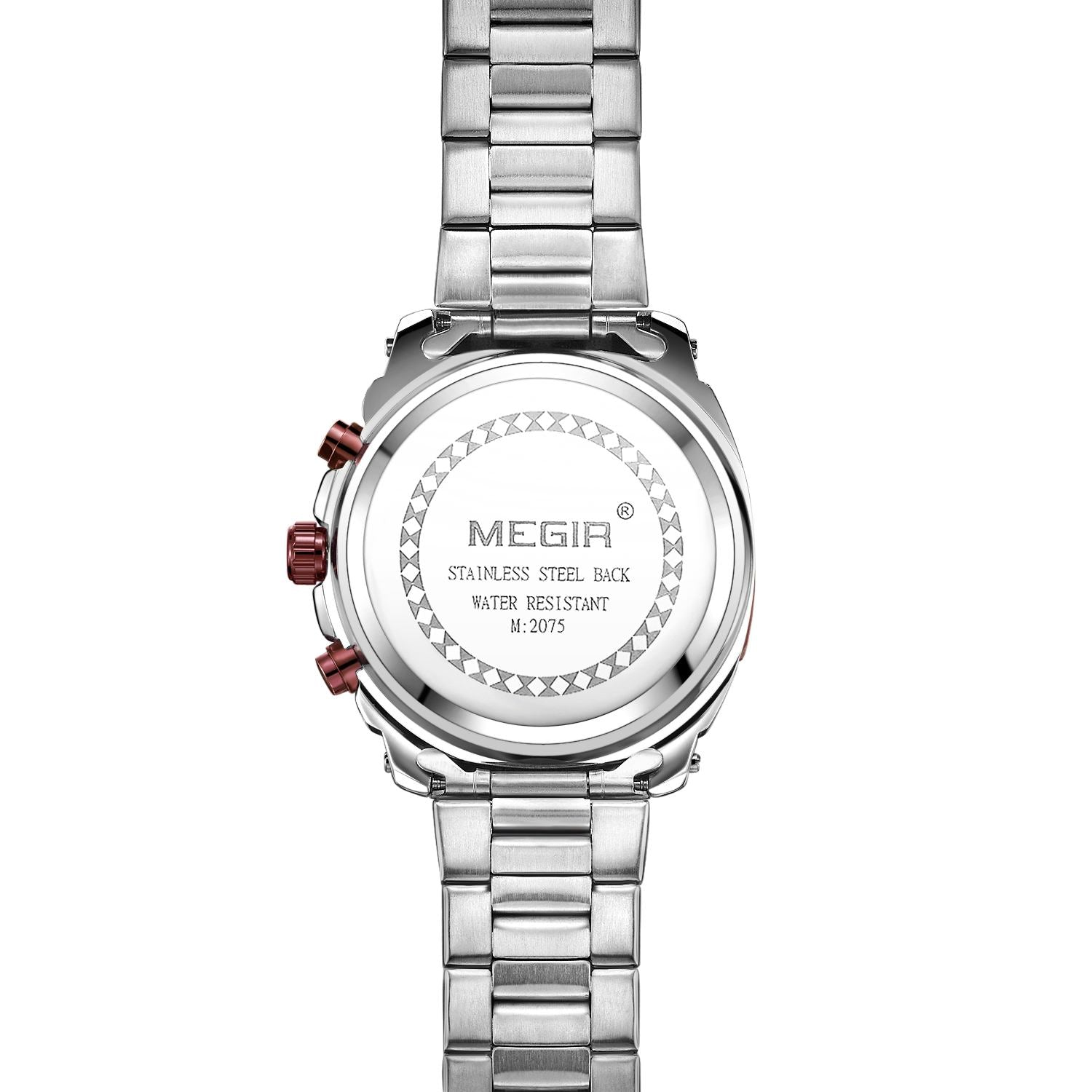 MEGIR men's quartz chronograph watch 2075 - MEGIR