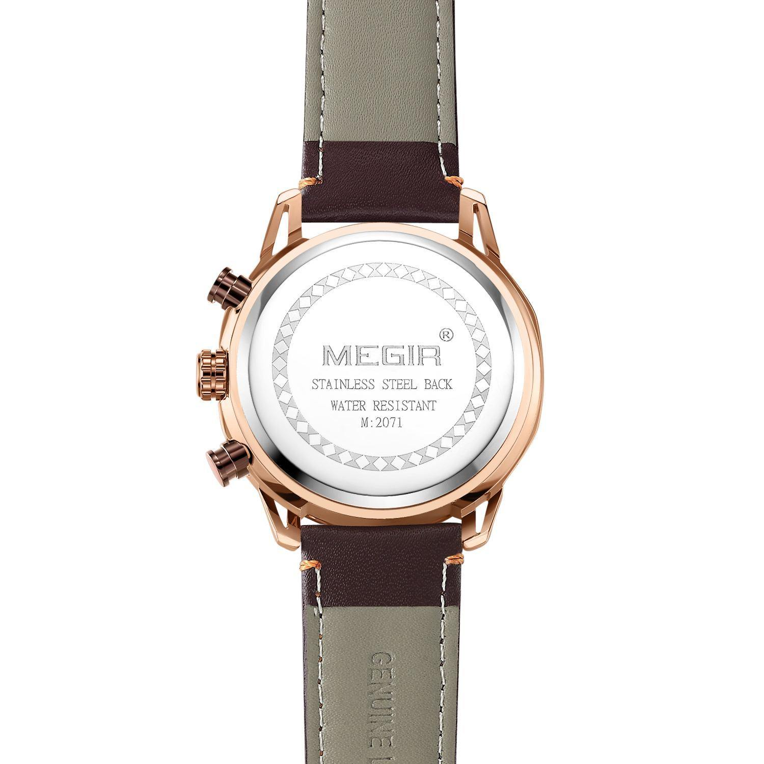 MEGIR Creative Chronograph Watch for Men 2071 - MEGIR