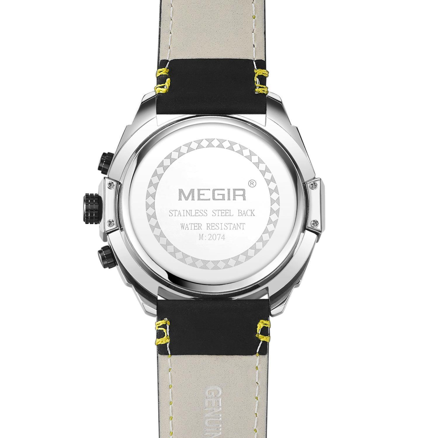 MEGIR chronograph watch for men 2074 - MEGIR