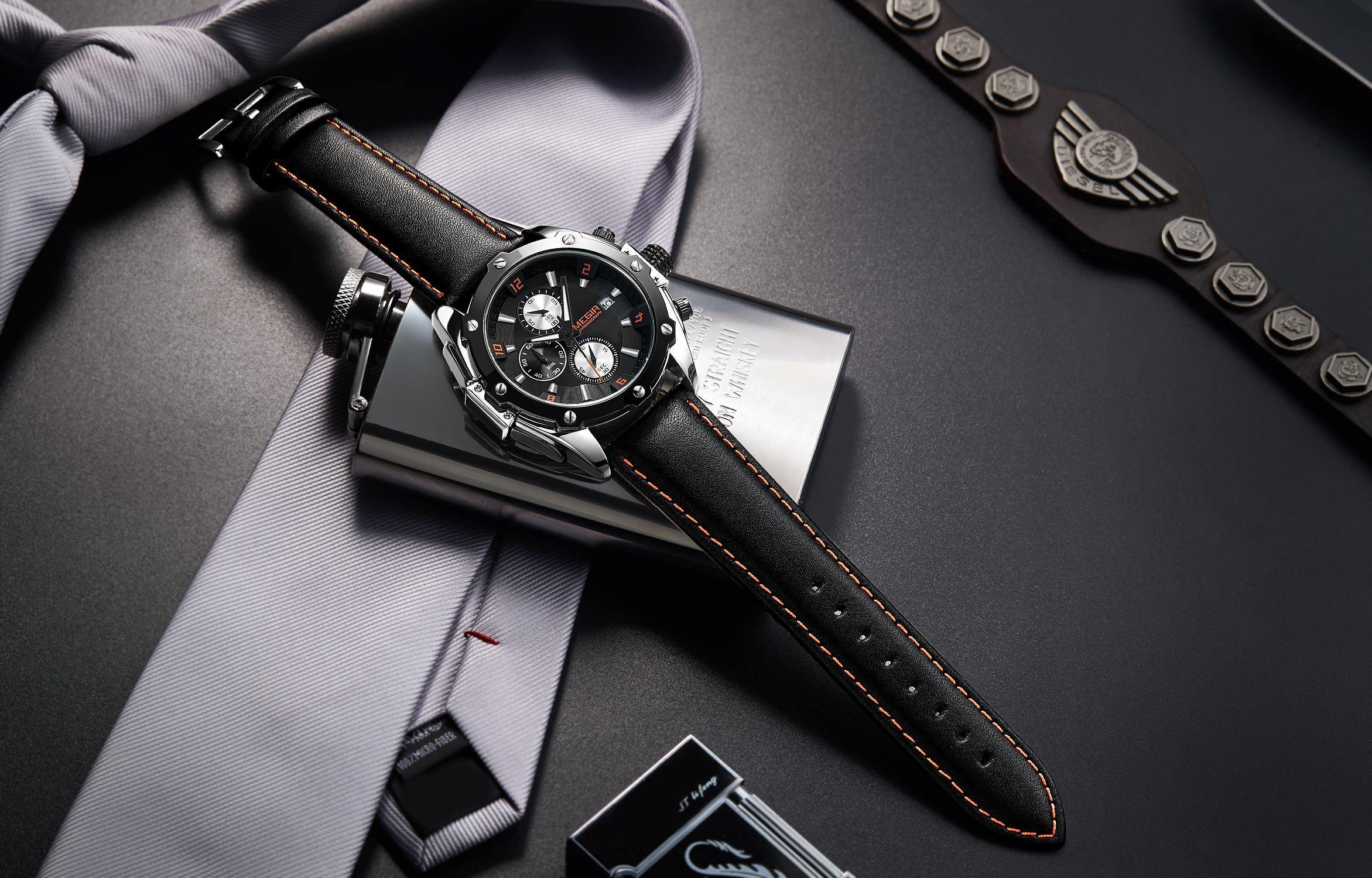 MEGIR Business Watch Men Fashion 2092 - MEGIR