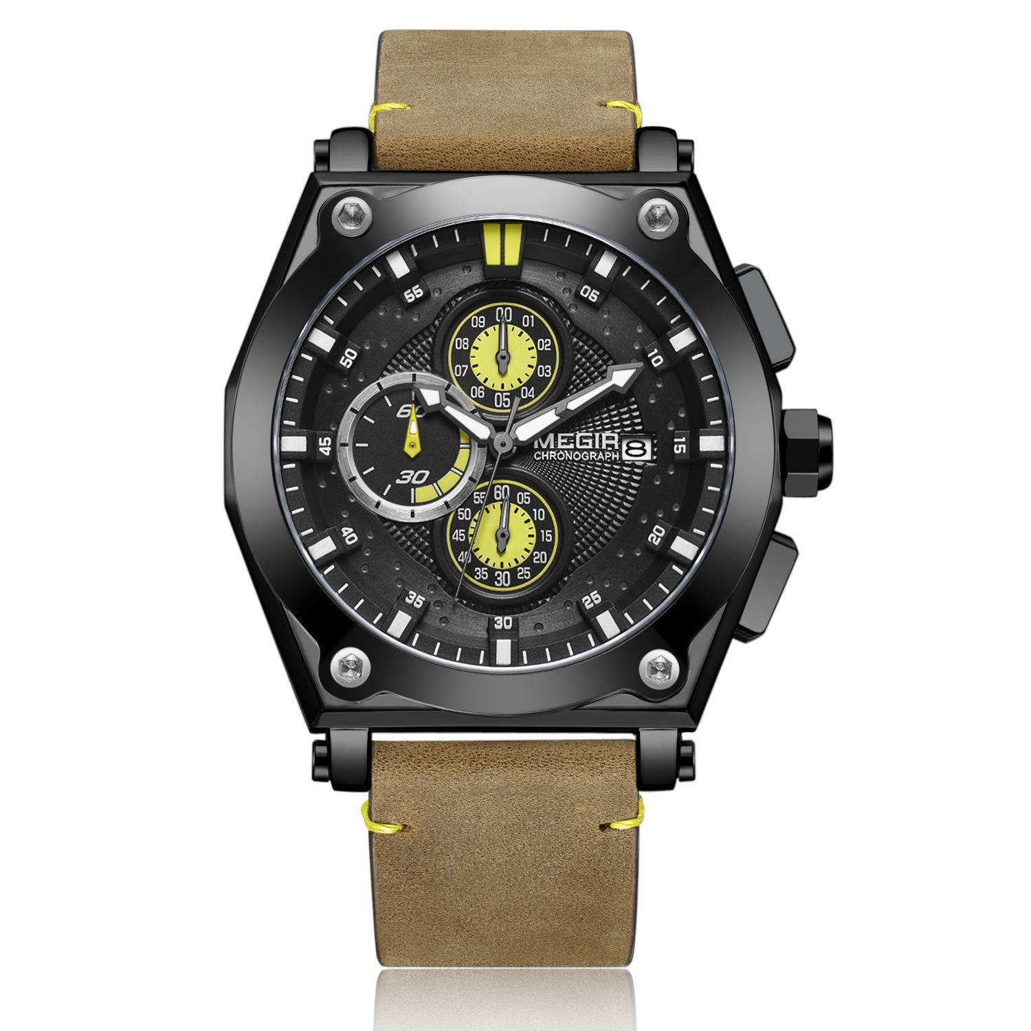 MEGIR Quartz Watches for Men 2098 - MEGIR