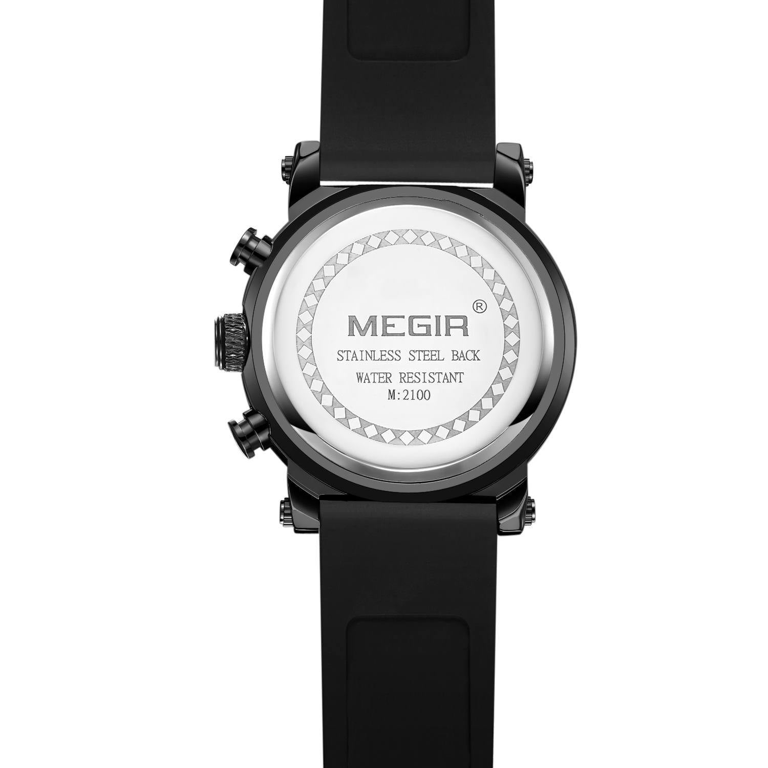 MEGIR luxury brand quartz watch 2100 - MEGIR
