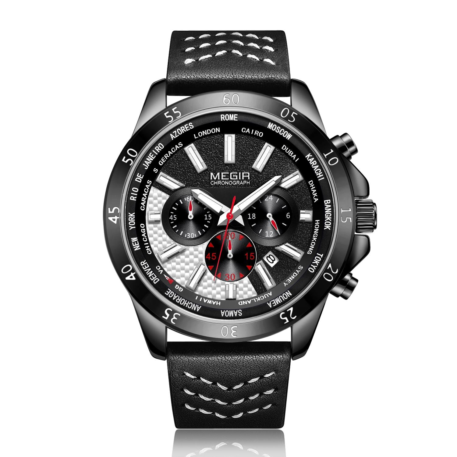 MEGIR watch for men, mens quartz sports watches 2103 - MEGIR