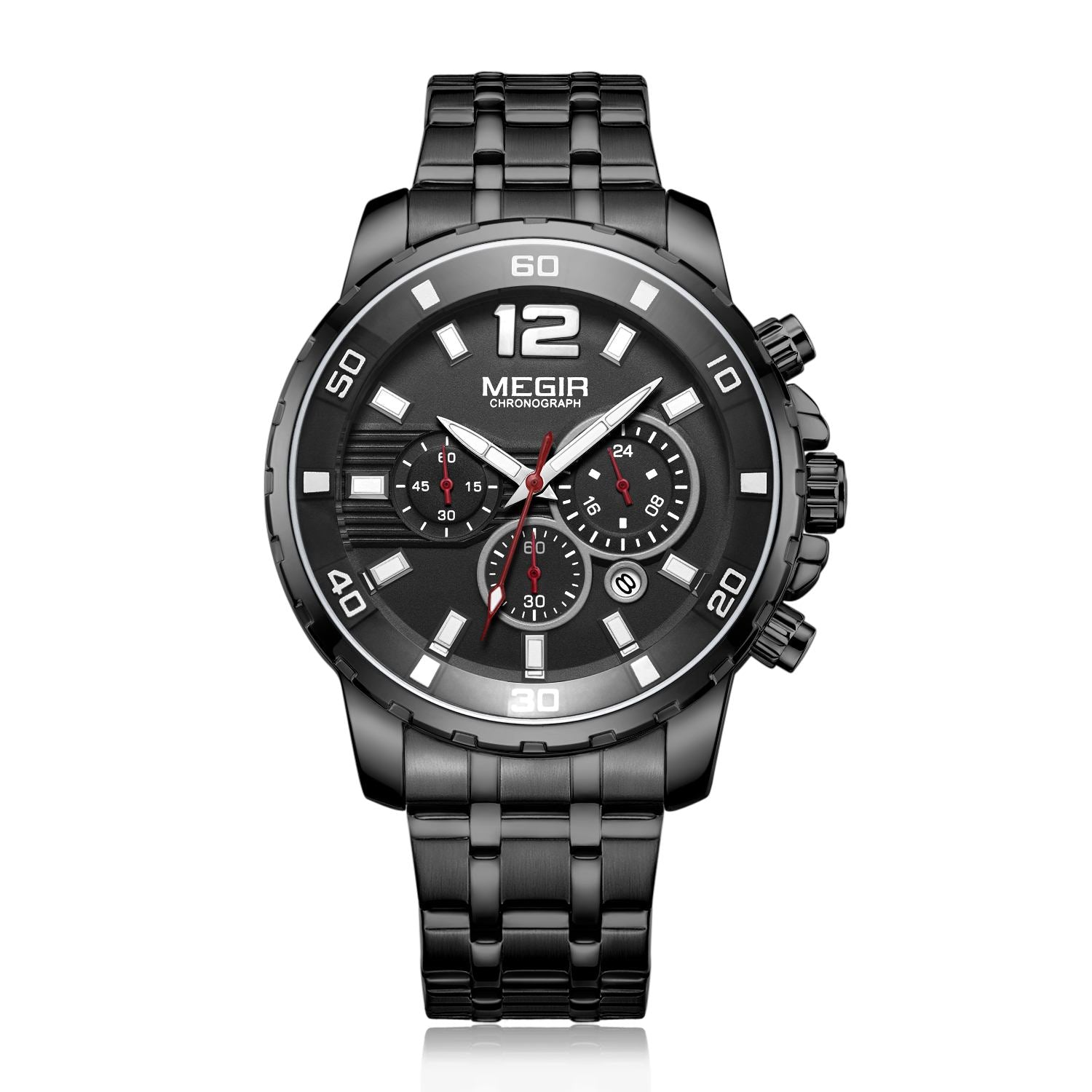 MEGIR Men's Quartz Chronograph Watch 2068 - MEGIR