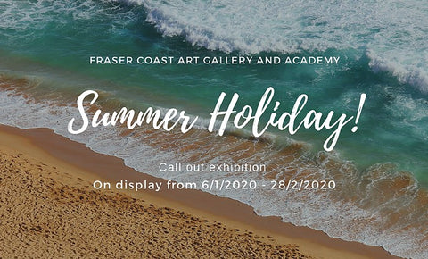 Summer Holiday art exhibition Lewis Gallery Hervey Bay Fraser Coast Maryborough