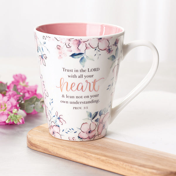 Mug- Trust In the Lord- 13 oz- Proverbs 3:5