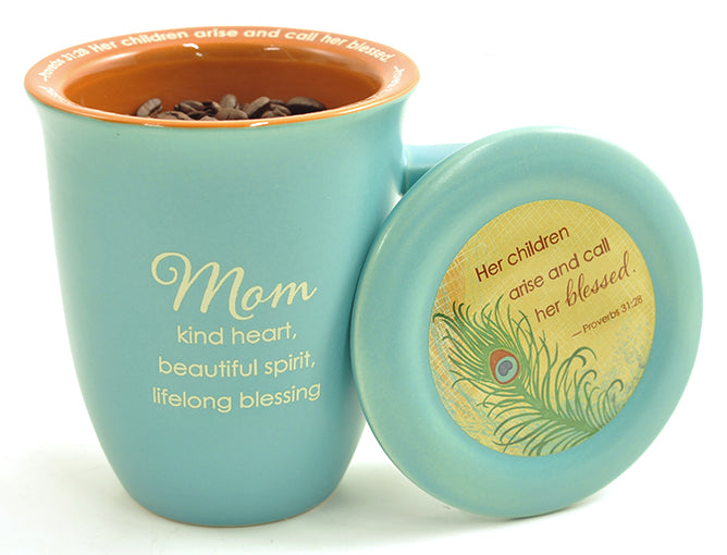 Mug with Coaster-Mom-Kind Heart