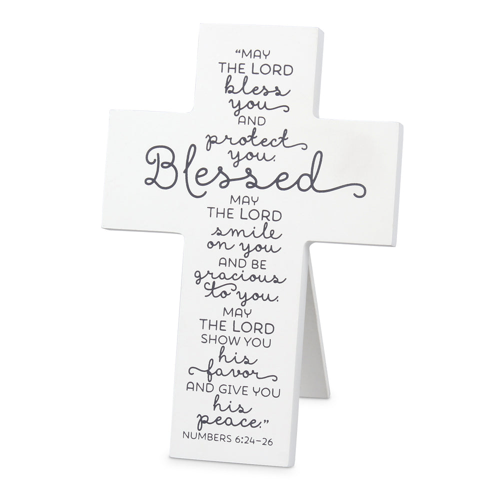 Wall Cross-Blessed-Num. 6:24-26