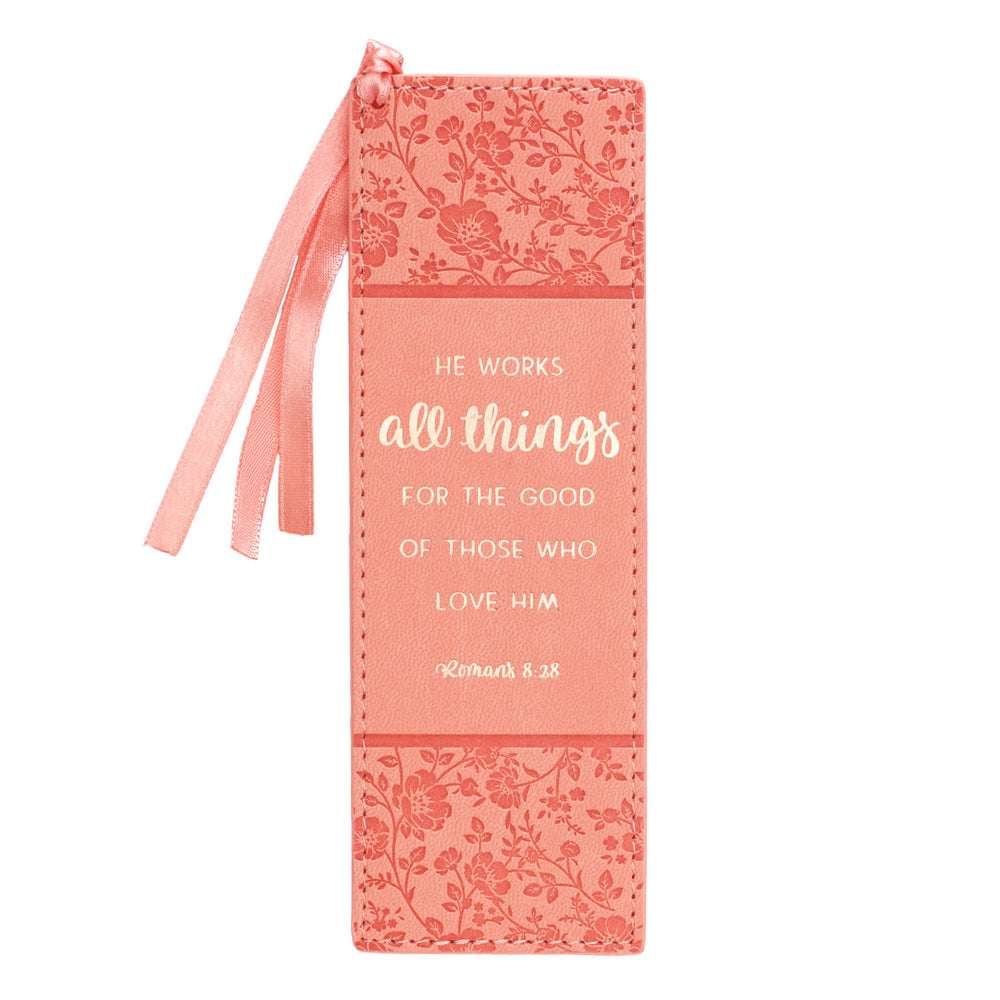 Bookmark - All Things - Pink