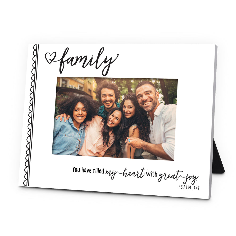 Frame-Family-You Have Filled My Heart With Great Joy