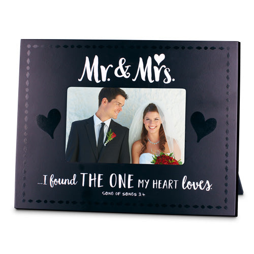 Frame-Wedding-Mr & Mrs.-I Found the One