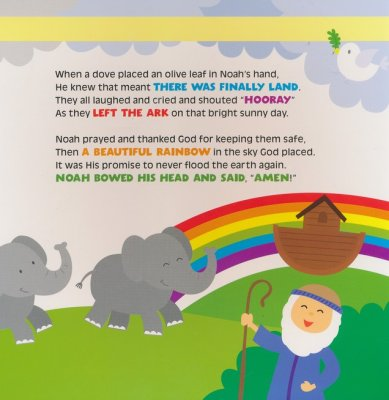 Fun Bible Story Rhymes for Kids- Book & CD